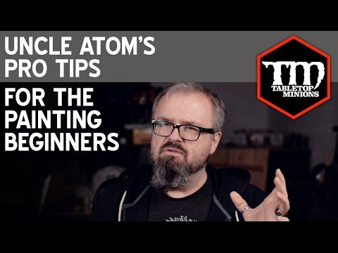 Tips For Beginning Painters - Uncle Atom