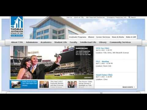 Close Up on San Diego Business Features Thomas Jefferson School of Law