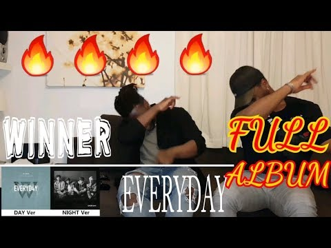 WINNER - EVERYDAY ALBUM REVIEW // THEY ARE BACK THO!!