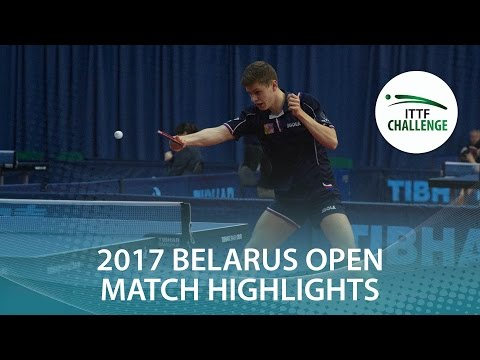 2017 Belarus Open Highlights: Yuto Kizukuri vs Tomas Polansky (U21-1/2)