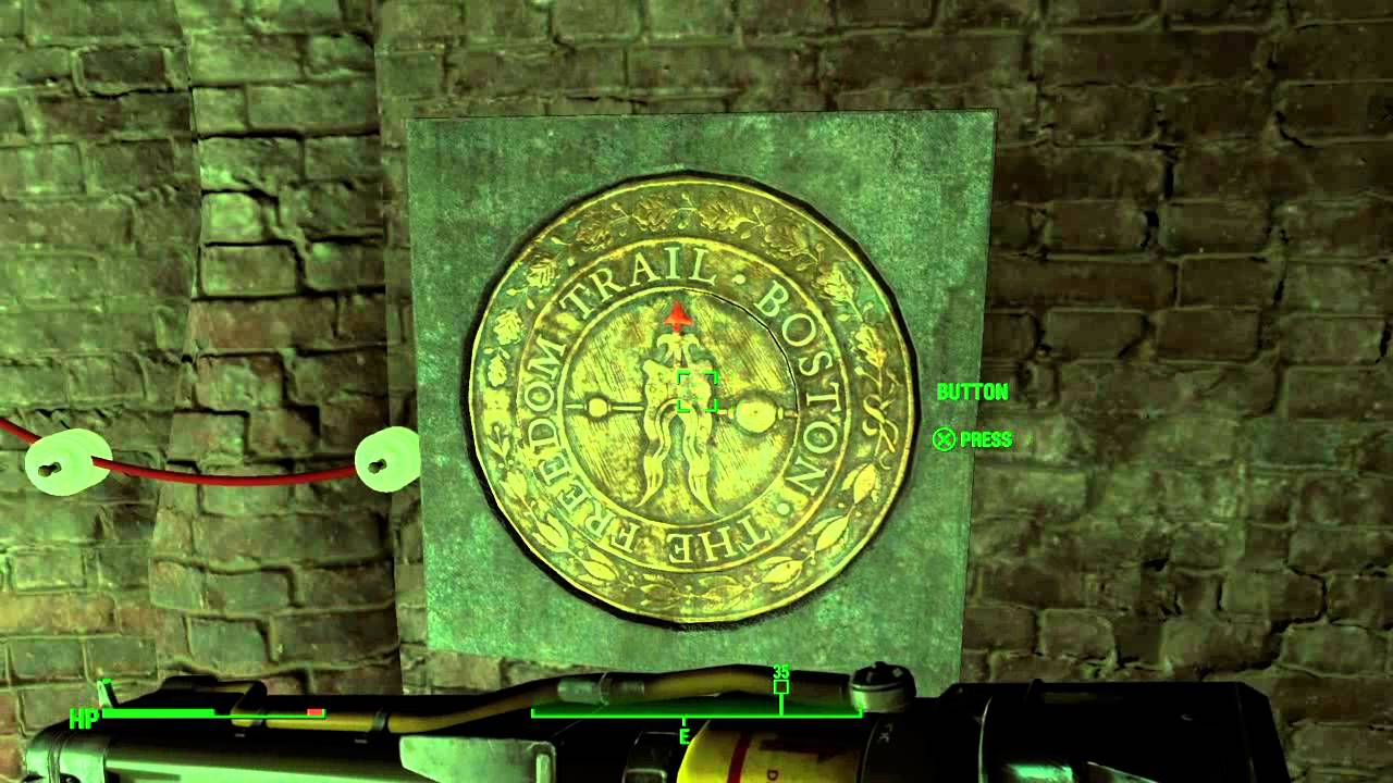fallout freedom trail ring puzzle location and how to