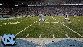 UNC's Sam Howell Goes Deep to Dyami Brown For Touchdown
