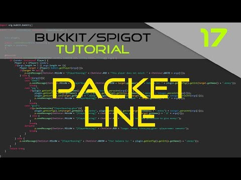 Minecraft Bukkit/Spigot Plugin Tutorial #17: Packet Particle Line