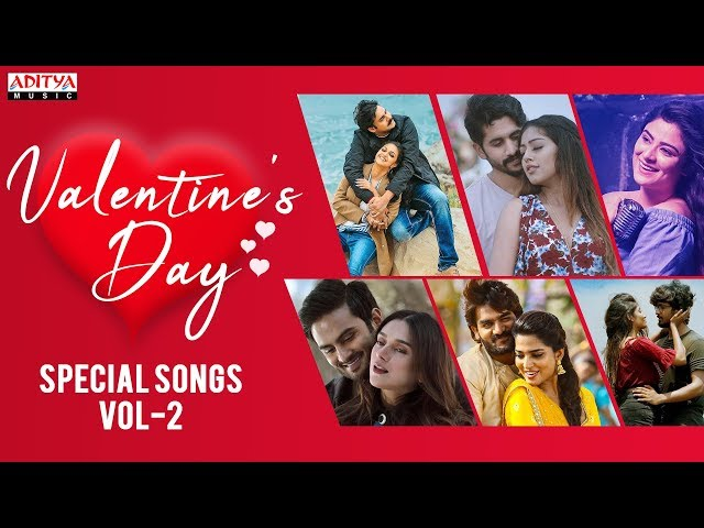 ♥♥♥ Valentine's Day Special Songs Vol -2 ♥♥♥ || Popular Love Songs Jukebox