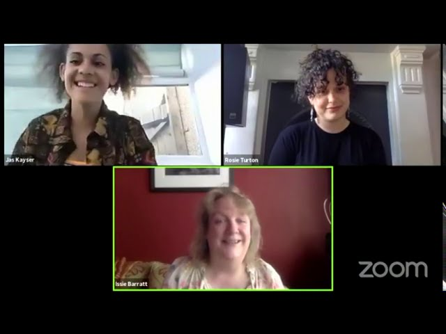 #NationalYouthJazz Wednesday: Issie Barratt in conversation with Rosie Turton and Jas Kayser