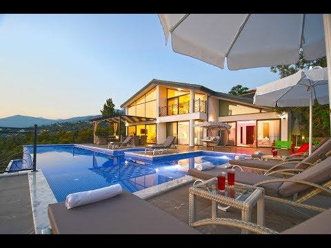 Tatil Villam | Villa Beyaz Saray - Kalkan Üzümlü Köyü kiralık villa tatili