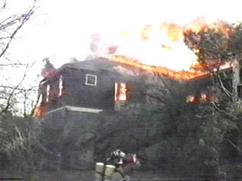 Round House Fire Jamestown, RI 1991