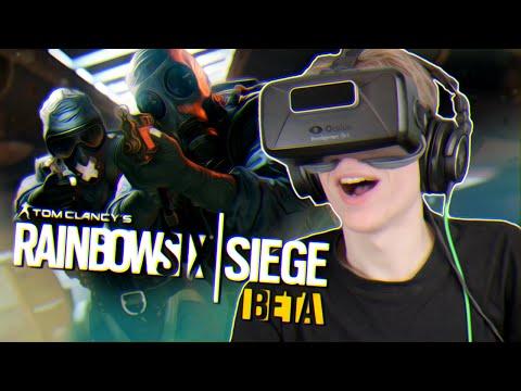 RAINBOW SIX IN VIRTUAL REALITY! | Rainbow Six Siege VR (Oculus Rift DK2 Gameplay)