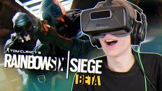 RAINBOW SIX IN VIRTUAL REALITY!   Rainbow Six Siege VR (Oculus Rift DK2 Gameplay)