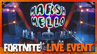 Fortnite Marshmello Event Concert! (No Commentary)