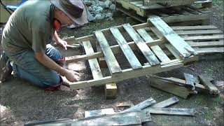 Break Apart - Dismantle Wood Pallets Easy With No Special Tools