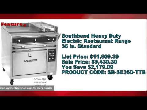 Heavy Duty Ranges- Most Popular Commercial and Restaurant Supplies