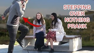 stepping over nothing prank #2 - Best of Just For Laughs
