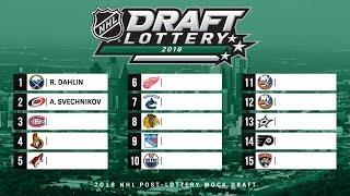 NHL 2018 MOCK DRAFT