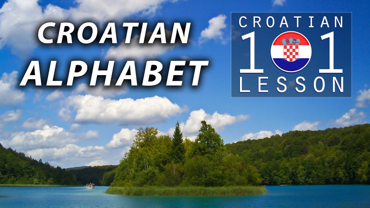 Croatian language, alphabet and pronunciation