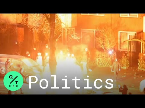 Netherlands Protests Heat Up Over Coronavirus Curfew