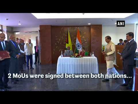 India, Guyana ink MoUs on renewable energy, cultural exchange programme