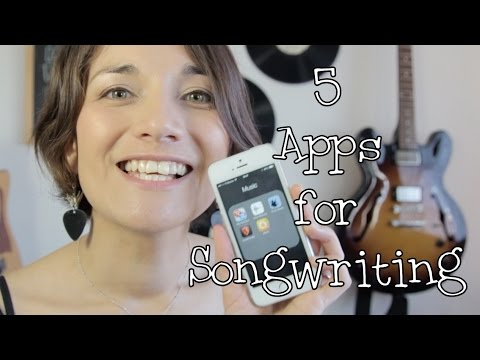5 Apps for songwriting - Kat McDowell