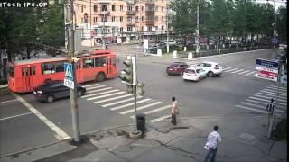 07 06 2015  Авария  г  Пермь  Компрос Пушкина