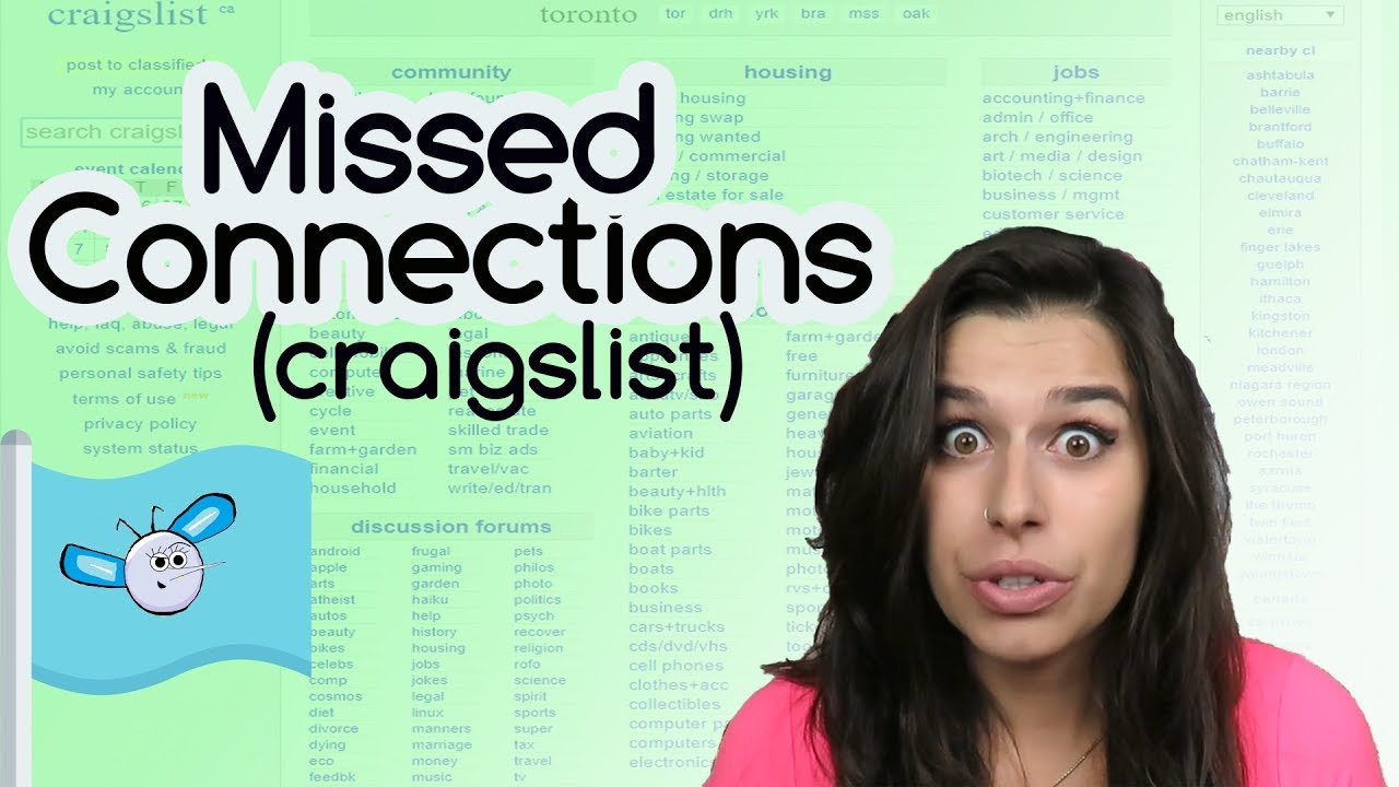 Missed Connections (Craigslist ads)