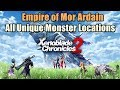 Xenoblade Chronicles 2 All Unique Monster Locations Empire of Mor Ardain