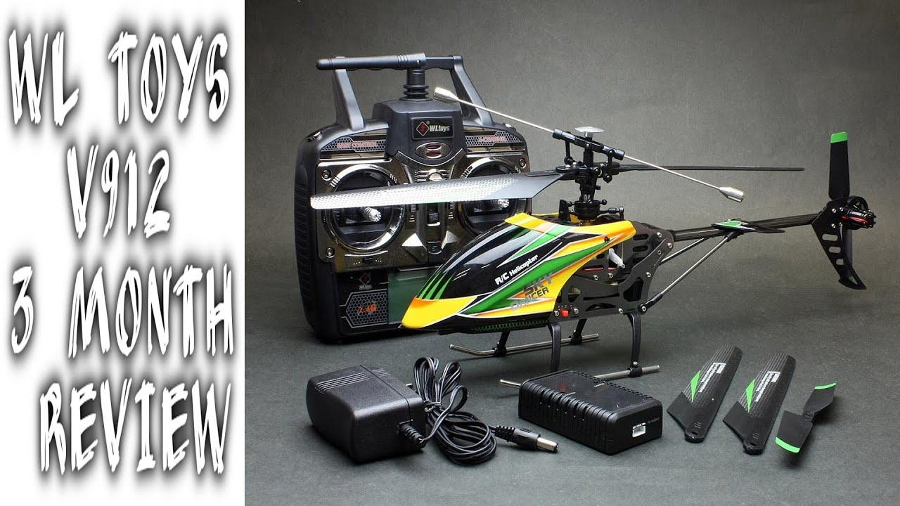 WLToys V911 RC Helicopter (4ch Micro Series Copter) - YouTube