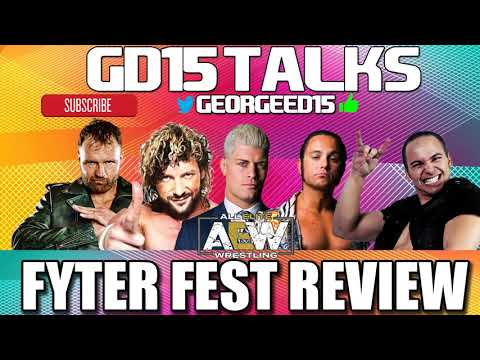 AEW FYTER FEST REVIEW JON MOXLEY DEBUT THE COFFIN DROP