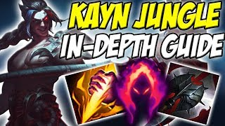 GUIDE ON HOW TO PLAY KAYN JUNGLE IN SEASON 8! BOTH FORMS ARE INCLUDED! - League of Legends