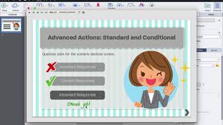 Advanced Actions with Adobe Captivate (2017 Release)