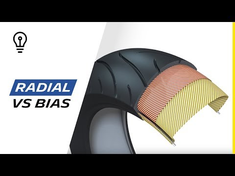 Learn more about Radial and Bias with Michelin 2013