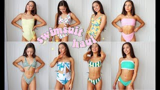 ZAFUL SWIMSUIT TRY-ON HAUL 2018