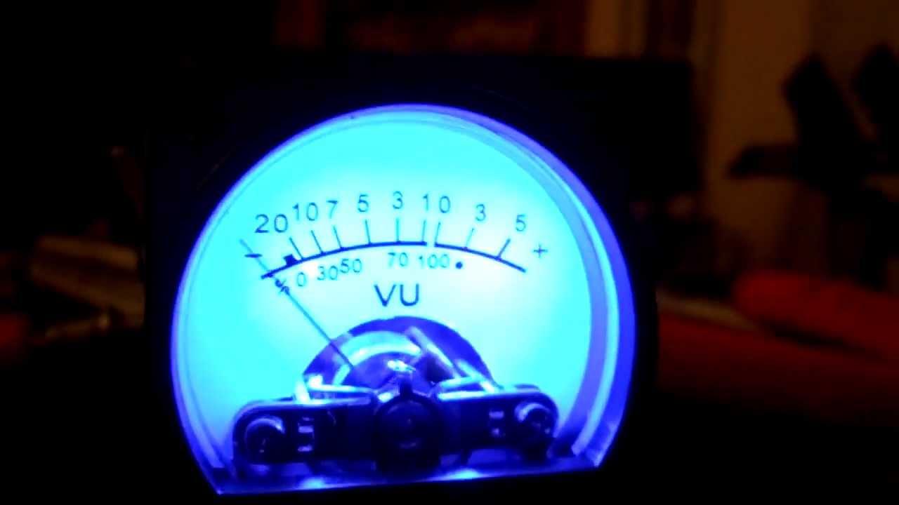 Lumière Vu Mètre TR-35 4 Pièces Vintage Audio Niveau Amp Portable