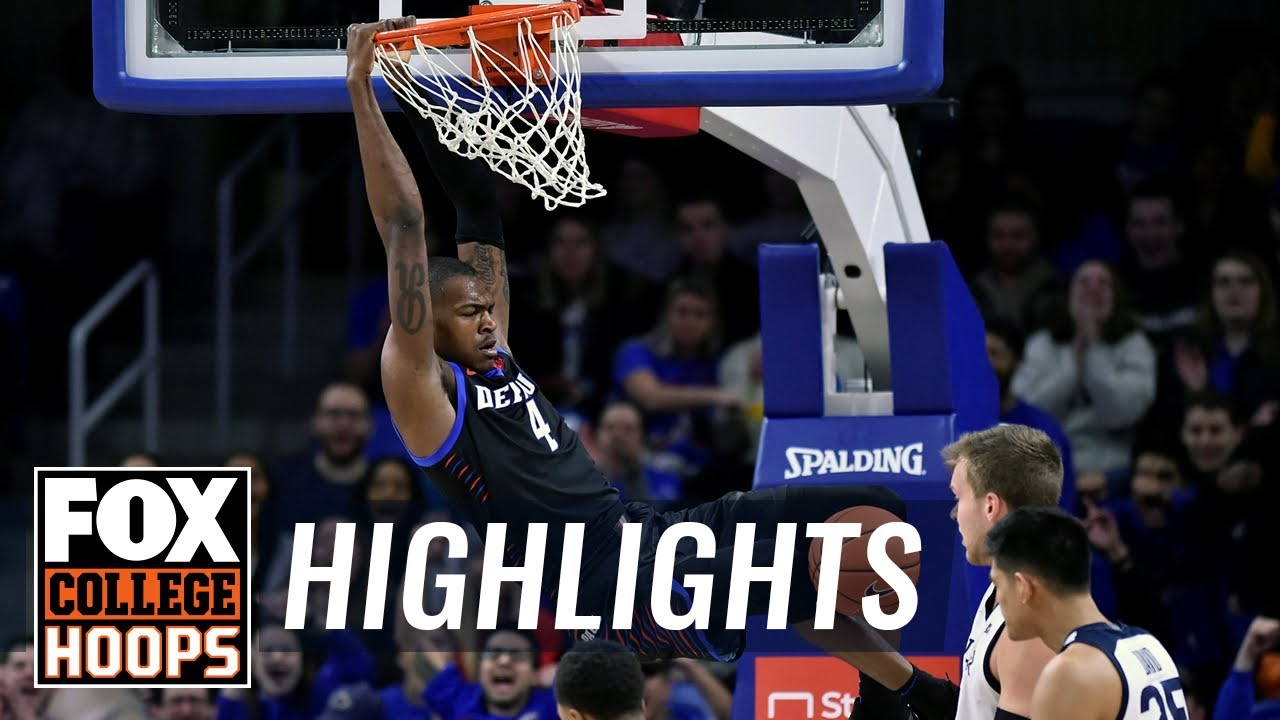 Paul Reed's near-perfect shooting day keys DePaul to upset of Butler  HIGHLIGHTS
