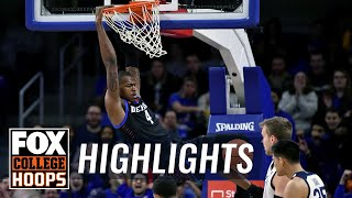 Paul Reed's near-perfect shooting day keys DePaul to upset of Butler | FOX COLLEGE HOOPS HIGHLIGHTS