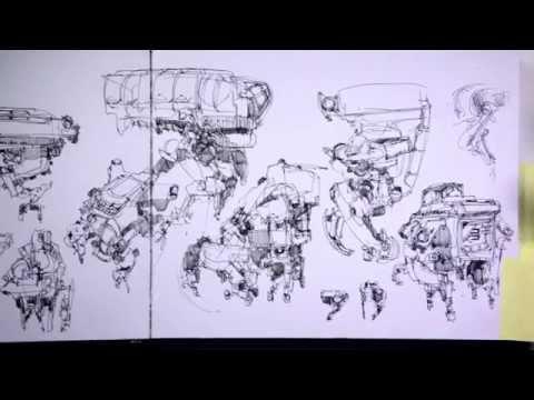 John Park's sketchbooks: part 2