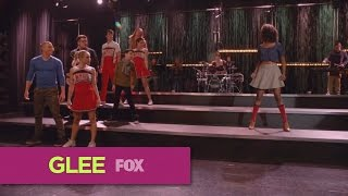 glee   rather be  full performance  hd