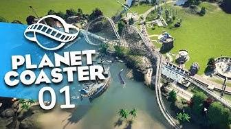 Planet Coaster [#01] - Freizeitpark, nimm dich in Acht - Let's Play