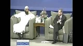 Christian vs Muslim debate (funny). did Jesus die for our sins?