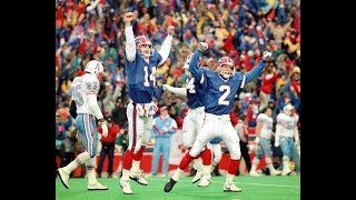 "Buffalo Bills vs Houston Oilers ""The Comeback"" 25th Anniversary Highlights"