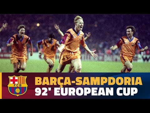[EXTENDED HIGHLIGHTS] 1992 European Cup Final: FC Barcelona - Sampdoria (1-0)