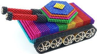 DIY How To Make Tank from 20000 Magnetic Balls | The Most Satisfying Video | Magnetic Tank