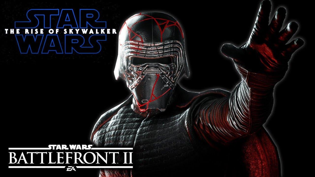 Episode 9 Kylo Ren Star Wars Battlefront 2 The Rise Of Skywalker Mod Youtube