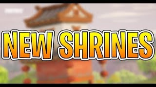 NEW TREASURE SHRINES + PHYSICAL VBUCKS - Fortnite Battle Royale New Shrines