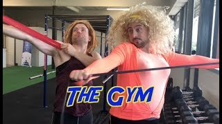 The gym - 2 Johnnies (sketch)