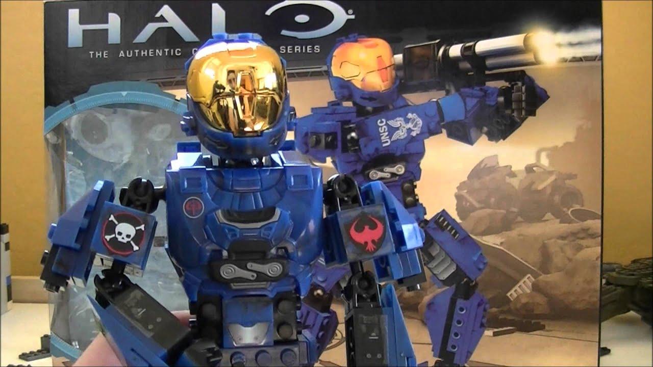 Mega Bloks Halo E V A  Spartan II Review