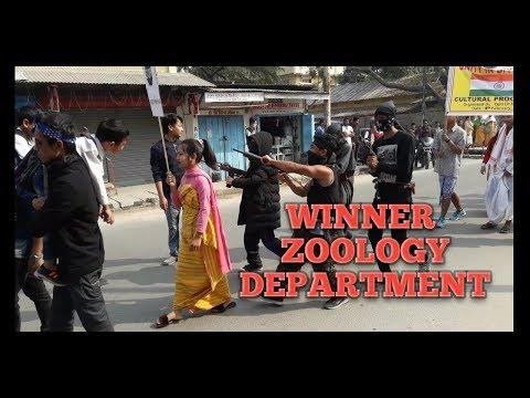Winner-Zoology Department    Cultural Procession   Bonjar Fest 2019
