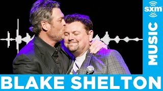Blake Shelton Loves Quarantining at Home with Gwen Stefani Which Inspired New Song Happy Anywhere