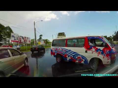 Georgetown to Berbice Bridge Guyana (AUG 2017) (FULL VIDEO)