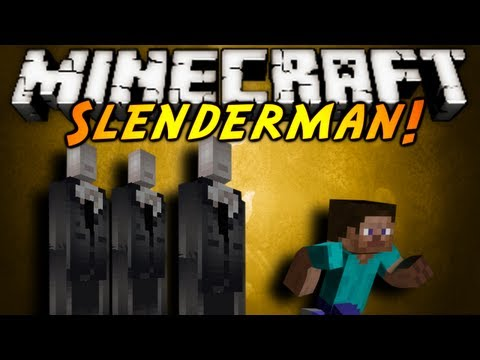 Minecraft Mod Showcase : SLENDERMAN!