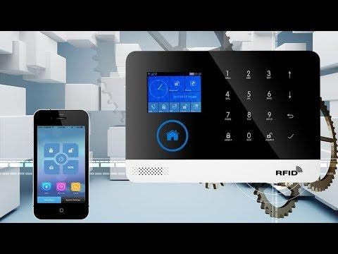 GSM, <b>WiFi</b> сигнализация PG-103 с поддержкой RFID. Охранная ...